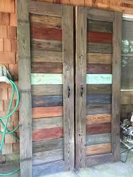 Wood Closet Doors Rustic Farmhouse Barn Doors For Doorways Entertainment Centers