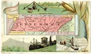 Maps Of Tennessee by Tennessee History Through Maps Off The Shelf