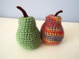 home decoration handmade crochet pears crochet fruits crochet food gifts kitchen decoration