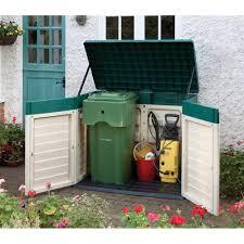 outside storage units garden backyard