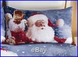 Double Christmas Duvet Duvet Cover Set Bedspread Santa Claus Comforter Bedding Single Double