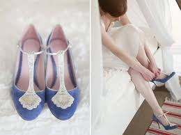 Wedding Shoes Blue A Glance At Something Blue Bridal Shoes Blue Bridesmaid Dresses