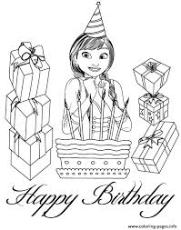 happy anna colouring coloring pages printable