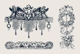 Vintage Ornaments by 50 Vintage Ornaments Graphics Youworkforthem