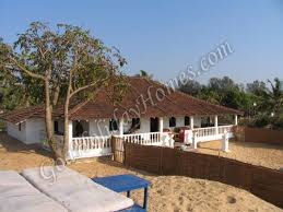 beautiful portuguese villa for rent in north goa beach house