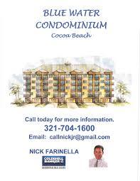 blue water condominium nick farinella realtor