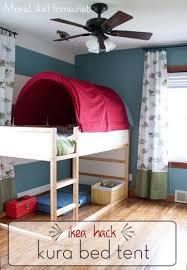 home design hack kura bed hack canopy diy tent home design more like ikea makeover