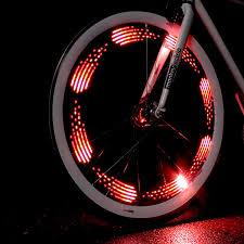 Light Bicycle Monkey Light 8 Bit Bike Wheel Light Thinkgeek