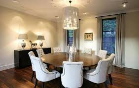 round table with tufted dining room chairs home interiors