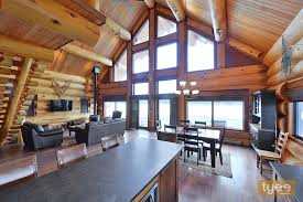 Log Home Interior Designs Handcrafted Log Homes