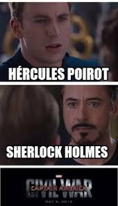 Sherlock Holmes Memes - meme creator hércules poirot sherlock holmes meme generator at