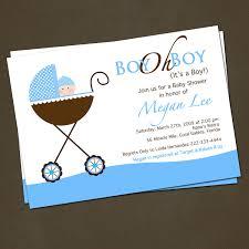 baby shower invitation ideas boy decoration