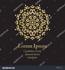 background gold ornament mandala based on stock vector 546478192