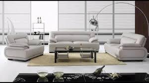 Italian Leather Sofa Set Divani Casa 3929b Modern Leather Sofa Set Youtube