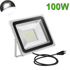 Led Outdoor Flood Lights Led Flood Light 100w Ebay