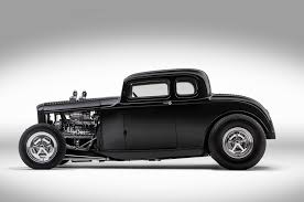 1932 ford coupe u0027s blown flathead and wild chop rod network