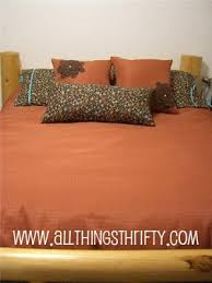 Making A Duvet Cover Make A Duvet Cover It Is Easy All Things Thrifty