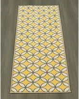 Yellow Runner Rug New Shopping Special Ottomanson Studio Collection Trellis Design