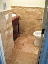 bathroom tile creative bathroom tile wainscoting decorating idea
