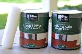 a boho patio makeover via the power of paint