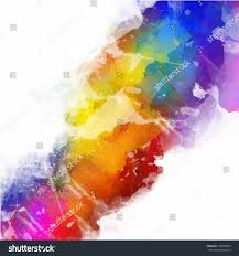vector abstract watercolor palette mix