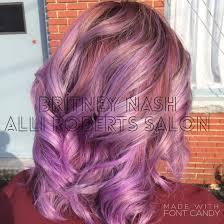 makeup artists in ri pastel lavender ombré nash alli salon colorist