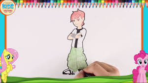 draw ben 10 omnitrix step step drawing easy drawings