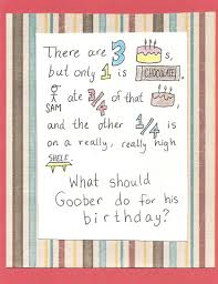 debbie dots greeting card blog word problem birthday