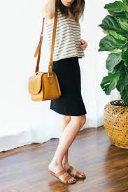 casual pencil skirt 4 ways to style a black pencil skirt