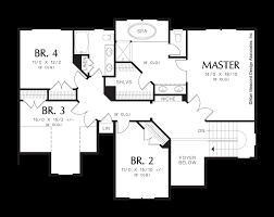 mascord house plan 22151a the dearborn