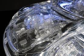 lexus supercar engine tokyo motor show 2009 transparent acrylic lexus lfa by scu fujimoto
