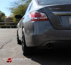 nissan altima lug pattern 18 inch motegi mr126 gloss black milled on 2015 nissan altima w