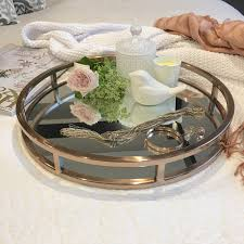 Gold Coffee Table Tray by Mirrored Tray For Coffee Table Home Table Decoration