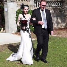 black and white wedding dresses black wedding dresses ebay