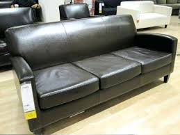ikea black leather sofa ikea black leather couch joze co