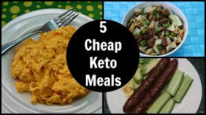 5 cheap keto meals low carb keto diet foods on a budget