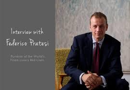 interview with federico pratesi the purveyor of luxury bed linen