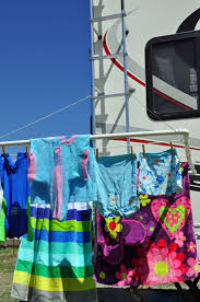 make your own pvc clothesline for rv use our traveling tribe
