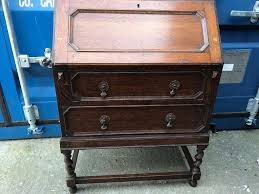 bureau free oak bureau with free delivery plymouth area in plymouth