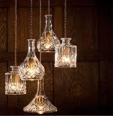 Cafe Pendant Lights Amusing Wine Bottle Pendant Light Modern Minimalist Gorgeous Retro