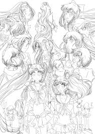 sketch sailor moon another story by rempikka on deviantart