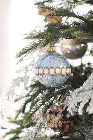 french country christmas home tour blue holiday decor ideas