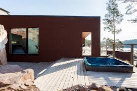 Finnish Interior Design Finnish House And Interior Design Connects With The Surrounding Nature