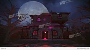 halloween haunted house background images 1920x1080 haunted house full moon night footage stock video footage 8985188