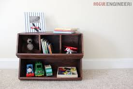 Diy Wooden Toy Box Plans by Diy Bulk Bins Pottery Barn Knock Off Free Plans