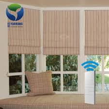 wireless remote control motorized window blinds curtain electric