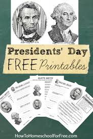 download eight different free presidents day worksheets for the