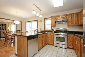 honey oak cabinets what color floor how do i downplay honey oak cabinets on a budget