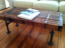 Industrial Rustic Coffee Table Industrial Rustic Coffee Table Djecaci Me