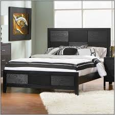 diy wood king size bed frame with headboard and footboard